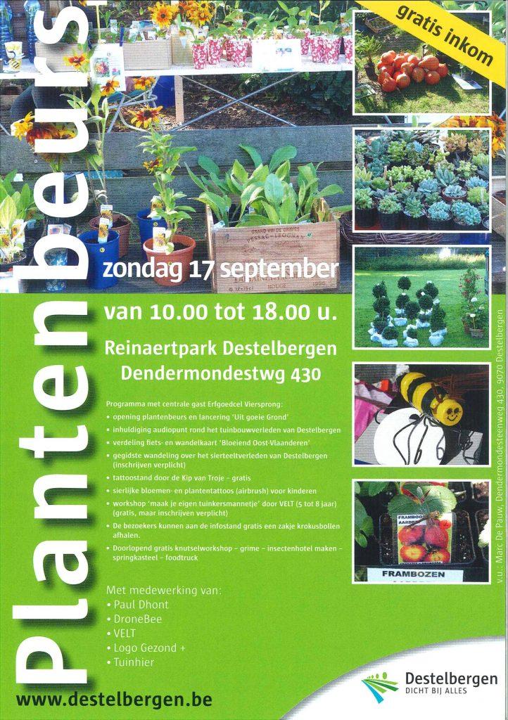 plantenbeurs 2017 Destelbergen